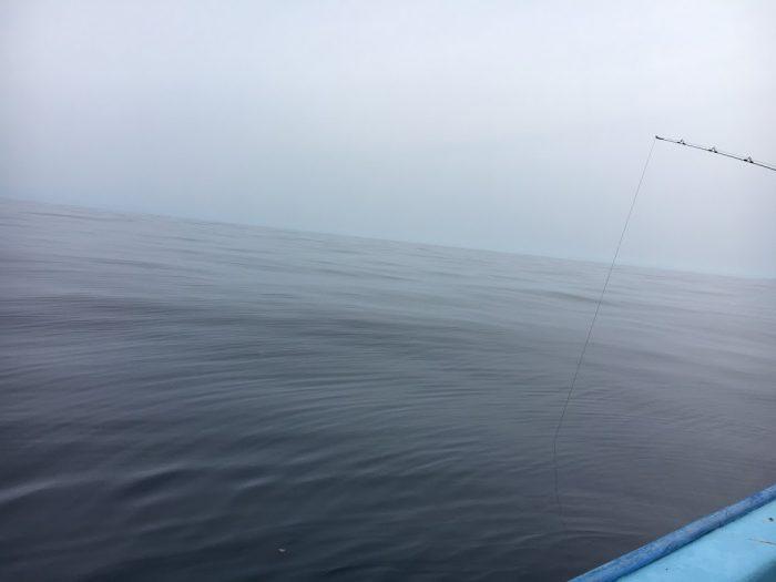 凪が良い海で無風