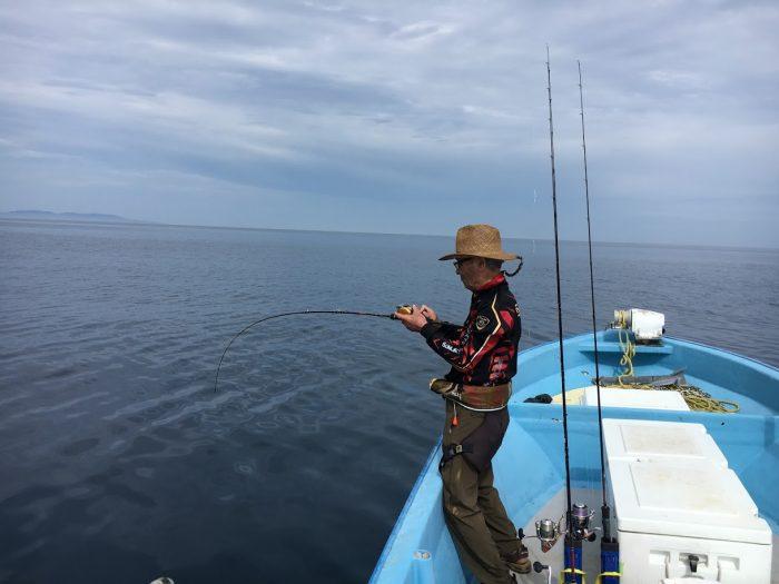 鯛ラバでマダイが釣れる