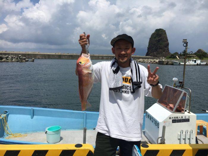 大甘鯛の釣果