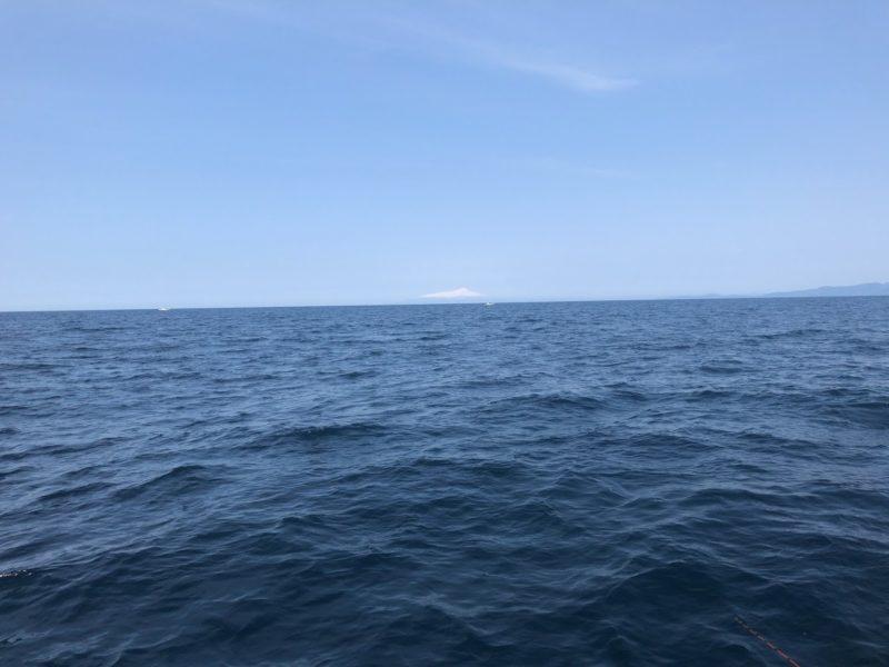 日本海での釣り