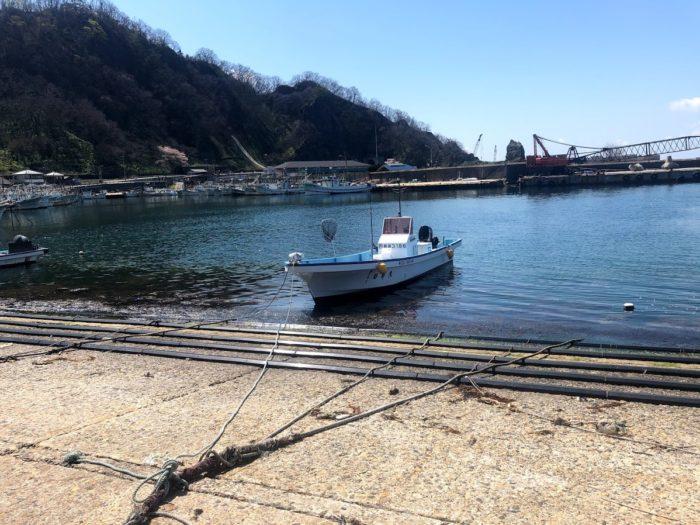 寝屋漁港釣り船集合場所