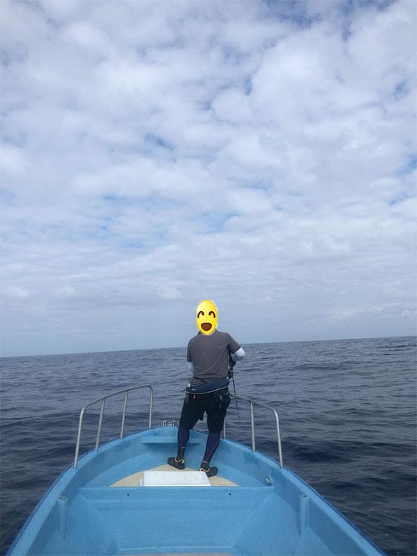 日本海でキャスティング