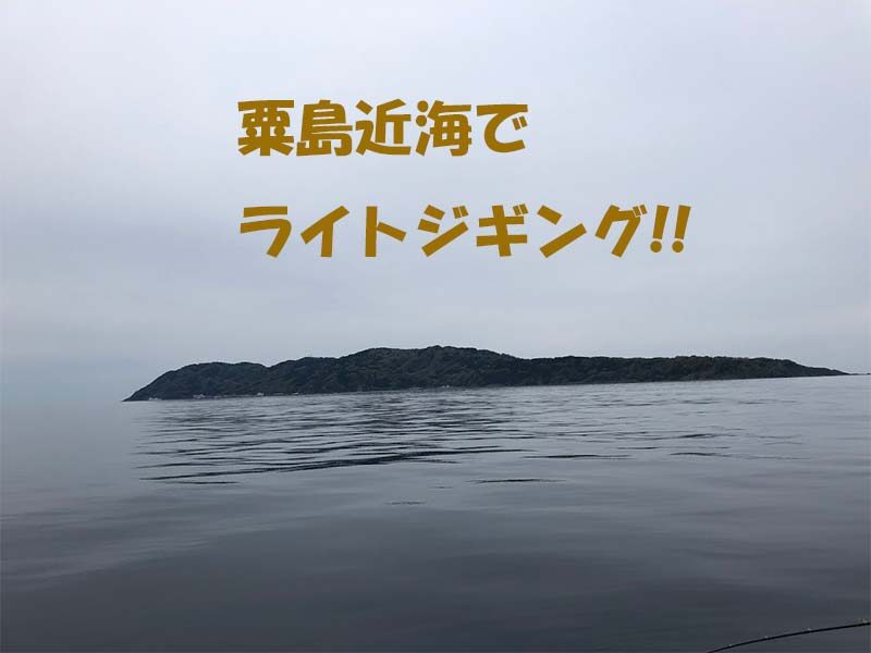 新潟県粟島近海でライトジギング釣果情報